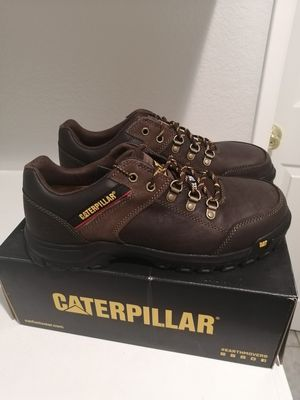 Brand new Caterpillar work boots for men. Size 10.5. Steel toe. for Sale in Riverside, CA