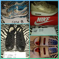Shoes Nike $50 ,And 1 $15 , Ascisi $25 Converse $30 for Sale in Murfreesboro,  TN
