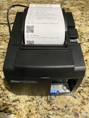 Star TSP100 thermal printer for Sale in Cedar Park, TX