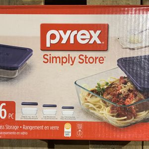 Pyrex simply store 6 Piece Set NEW for Sale in Boynton Beach, FL