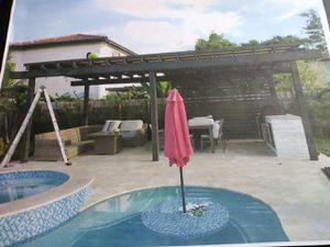 Pergolas free estimado for Sale in Homestead, FL