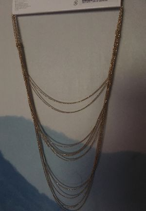 Gold hanging necklace (free) for Sale in West Covina, CA