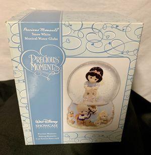 Walt Disney showcase precious moments snow white musical water globe for Sale in Santa Ana, CA