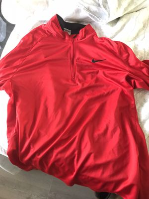 Men's Nike Dri Fit Quarter Zip Shirt for Sale in Wichita, KS