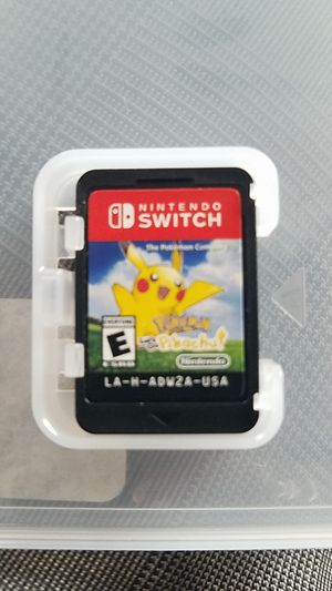 Go pickachu Nintendo switch for Sale in Anaheim, CA