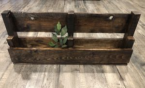 Wood Wine Rack/Planter for Sale in Fontana, CA