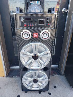 Bluetooth karaoke speaker/Bosnia Halloween special $200 for Sale in Fontana, CA