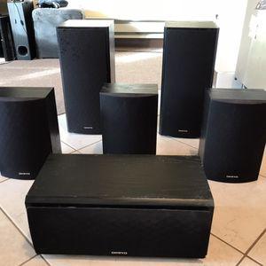 Onkyo Speaker Set for Sale in San Francisco, CA
