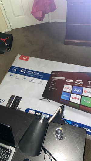 Tcl 55 inch 4K tv for Sale in Groveport, OH