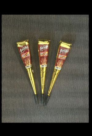 1 quantity fast red color henna cone for Sale in Hilliard, OH