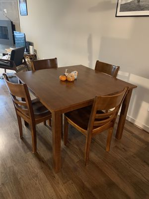 Kitchen dining table set with chairs for Sale in Seattle, WA