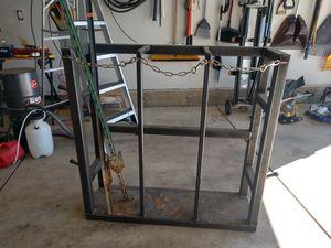 Welding tank rack made of tube steel for Sale in Colorado Springs, CO