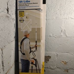 Power Washer Telescoping Presure Extended Wand for Sale in Clifton, NJ