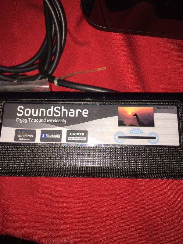 Samsung soundbar & Subwoofer