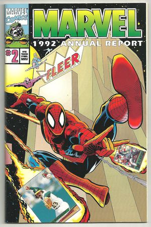Marvel 1992 Annual Report 2 FN Condition Spider-man for Sale in Molalla, OR