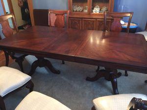 Dining Table and 8 Chairs for Sale in Naperville, IL