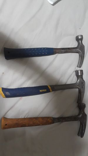 Three hammers for construction you can use it for anything as long as you don't hurt somebody with it 😁🔨⚒🔥🙂 👷🏽♂️ for Sale in Boston, MA
