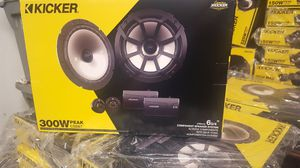 Brand New!!! Kicker CS 6 3/4 component Speakers. Great sounding!! for Sale in Tolleson, AZ