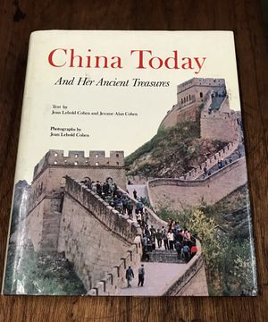 China Today and Her Ancient Treasures Book Chinese History for Sale in Cypress, CA