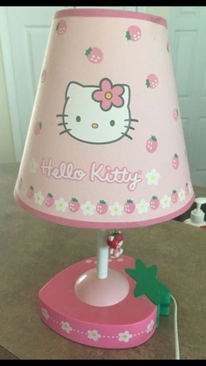 HELLO KITTY LAMP for Sale in Cape Coral, FL