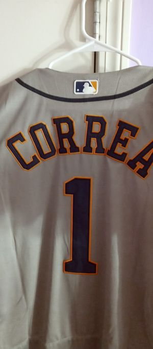 CARLOS CORREA Houston Astros Majestic Away Baseball Jersey $49 or best offer for Sale in New Britain, CT