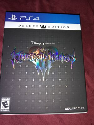 Kingdom Hearts 3(PS4)(Deluxe Edition) for Sale in Efland, NC