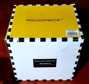 """New in Box MonoPrice MST-660-2Y 6 12"""" 2-way In-ceiling Speakers $35 for Sale in Gahanna, OH"""