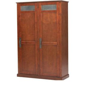 Payton Chestnut Brown Storage Locker with Double Doors (47.5 in. W x 72.25 in. H x 18 in. D) for Sale in Alexandria, VA