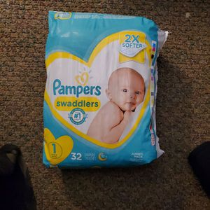 Pampers Diapers Size 1 for Sale in Black Canyon City, AZ