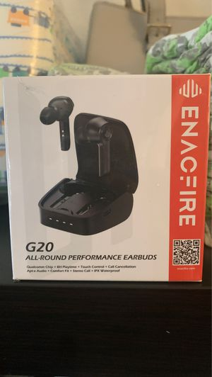 Enacfire G20 all around performance earbuds for Sale in San Bruno, CA