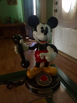 Vintage Disney Mickey Mouse animated working phone 401 8372808 Holiday for Sale in Tarpon Springs, FL