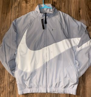 SEND ME AN OFFER!! New Men's MEDIUM Nike windbreaker, tag says small but fits like a loose medium, the description for Sale in Huntington Beach, CA