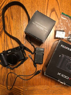 Fujifilm x100T Digital Camera with TCL-x100 Conversion Lens for Sale in Seattle, WA