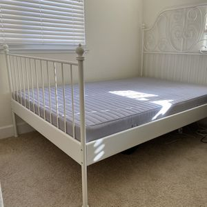 Full Size Bed Frame & Mattress for Sale in Union City, CA