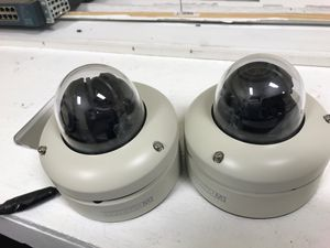 Security cameras dome I have two units of the digital Western and two units of the axis for Sale in Hollywood, FL