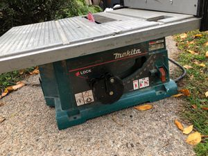Makita 2703 Table Saw for Sale in Watertown, MA