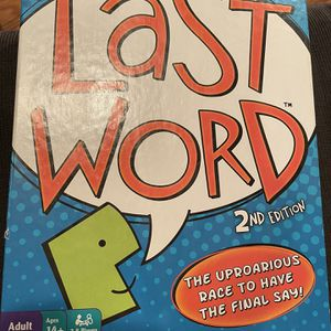 last word game for Sale in Holmdel, NJ
