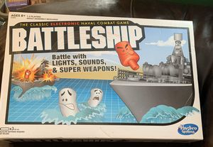 Hasbro Gaming Electronic Battleship Board Game for Sale in Colchester, CT