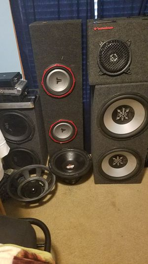 Car audio for sale for Sale in Columbus, OH