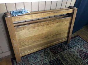 Oak Twin Bed Frame for Sale in Owosso, MI