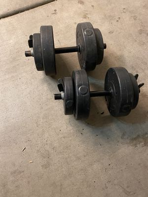Dumbbell weights for Sale in Peoria, AZ