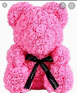 Pink Rose Teddy Bear for Sale in Cape Coral, FL