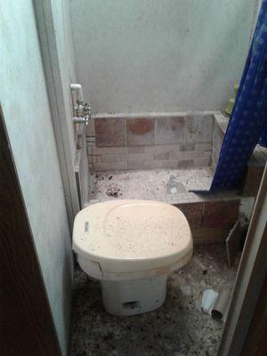 Camper stove bathroom sink.kitchen sink.frig.& toilet for Sale in Paradis, LA
