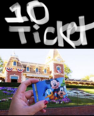 I need 11 disneyland tickets for Saturday for Sale in Whittier, CA