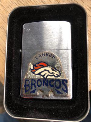 Denver Broncos Zippo for Sale in Sumner, WA