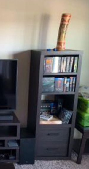 New!! bookcase, bookshelves, display case, audio tower, dvd storage for Sale in Phoenix, AZ