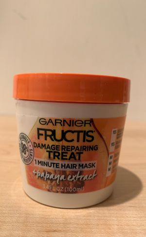 Garnier Fructis 1 minute papaya hair mask 3.4 oz for Sale in Alexandria, VA