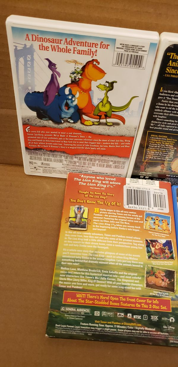 9 Kid DVD MOVIES
