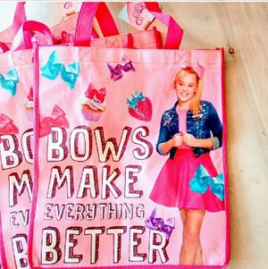 5 JOJO SIWA TOTE BAGS!! ALL NWT for Sale in Tempe, AZ