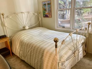 Wrought Iron and Brass Bed Frame for Sale in Napa, CA